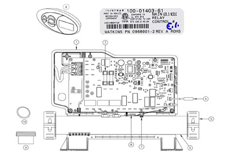 Tiger River Spa Wiring Schematic by 73992 High Limit Sensor