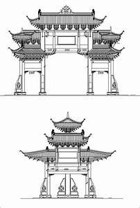 Chinese Architecture  U2013 Cad Design