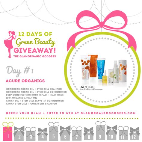 12 Days Of Green Beauty Holiday Giveaway