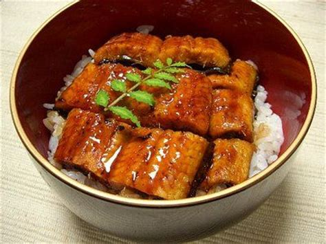 Fresh Water Ell Bowl Unagi One The Most Famous