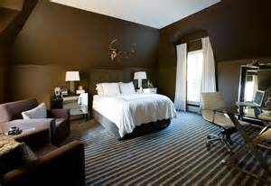 Bedrooms with Chocolate Brown Walls