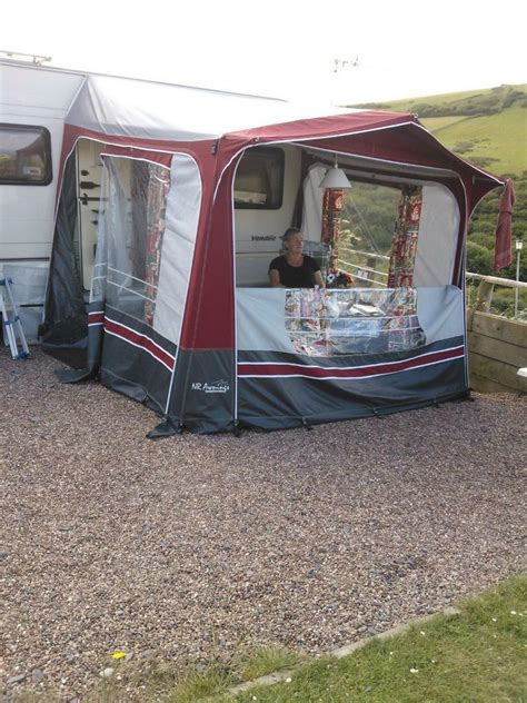Porch Awning With Annexe by Nr Porch Awning With Annexe In Bolsover Derbyshire