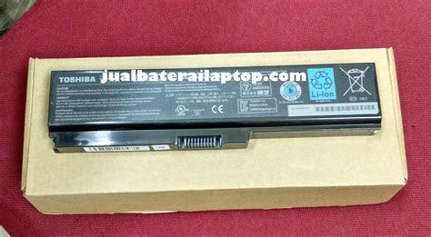 Harga Baterai Toshiba C640 jual baterai battery original toshiba satellite c600