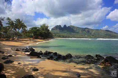 Anahola Beach Park in Anahola, Kauai, Hawaii