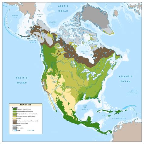 Southern Canada Biomes  Bing Images