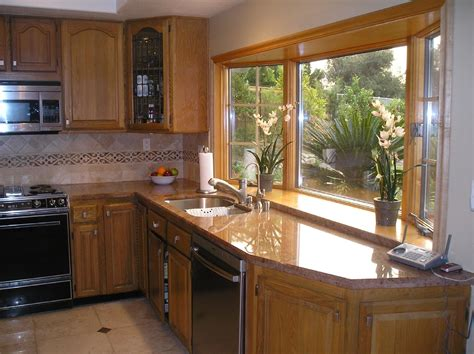 bay window kitchen ideas kitche bay windows view from one of 2 bay