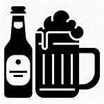 Beer Icon Mug Glass Bottle Icons Bar