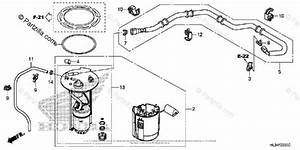 Honda Side By Side 2014 Oem Parts Diagram For Fuel Pump
