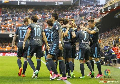 Valencia 2 - 3 Real Sociedad Highlight Video | LiveonScore.com