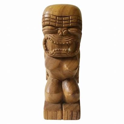 Tiki Wood Carving Philippine Monkeypod Chairish