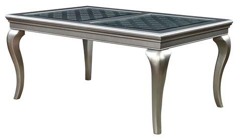 amina   dining table  furniture  america