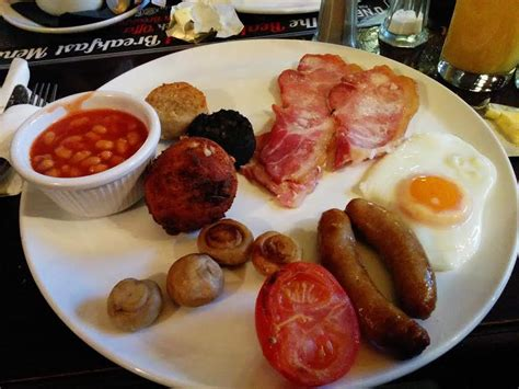 A Full Irish Breakfast