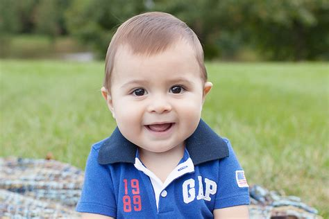 cute  month  boy mt laurel child baby photographer