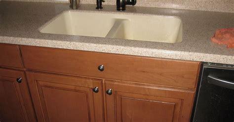 replacing  corian sink   farmhouse sink hometalk