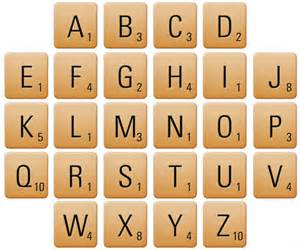 7 best images of printable scrabble pieces free