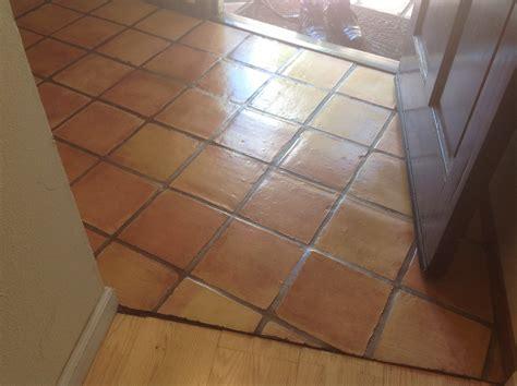 antique saltillo floor cleaning refinishing in santa ca