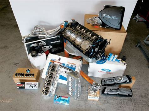 Ford Racing Peformance Parts Boss Engine Build