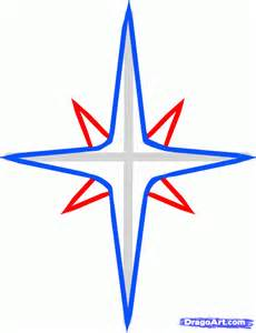How to Draw a Easy Christmas Star
