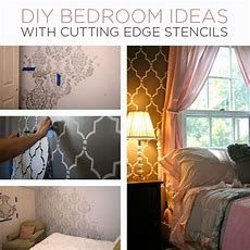 Diy Bedroom Ideas With Cutting Edge Stencils