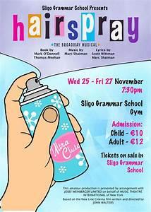 Hairspray Poster   Sligo Grammar School