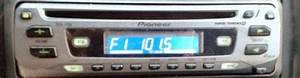 Pioneer Deh-1700  How To Set The Clock