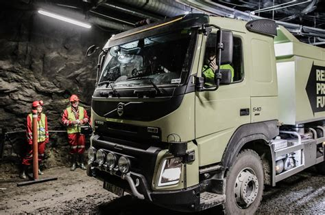 volvo group trucks technology volvo tests self driving truck in an underground mine