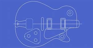 Printable Guitar Body Templates