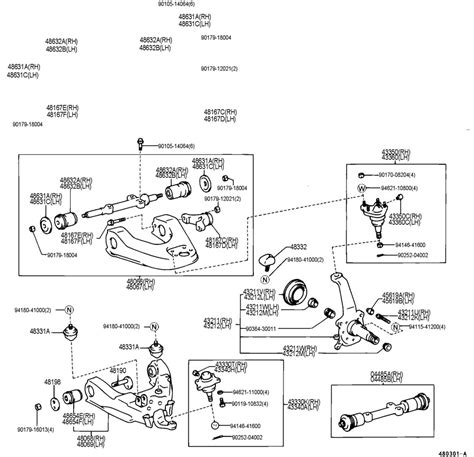 Toyota Bush For Steering Knuckle