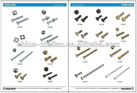 Bolt Head Types Metric Carriage Bolts