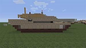 Minecraft Vehicle Tutorial Lets Build M1 Abrams Tank