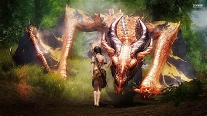 Dragon Fantasy Wallpapers Epic Taming Skyrim Games