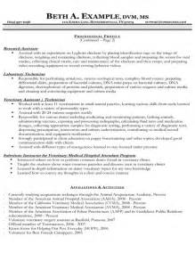 resume template for veterinarian 301 moved permanently
