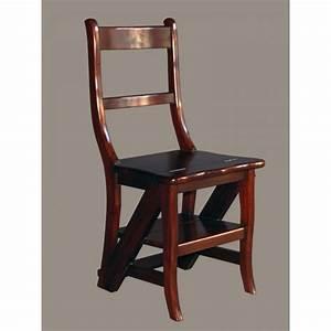 Mahagoni Farbe Holz : leiterstuhl mahagoni massiv lackiert klappstuhl trittstuhl trittleiter holz ~ Orissabook.com Haus und Dekorationen