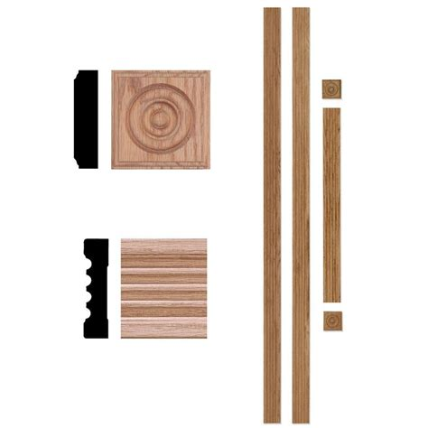 traditional kitchen faucets house of fara 5000 3 4 in x 3 in x 7 ft oak door trim