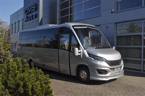 Here you'll find information on our buses and further services. IVECO Tourist Bus - 31 seats, silver metallic - 2020 production | CMS Auto - Producent minibusów ...