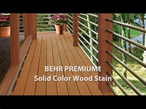 behr premium deck stain solid behr premium 174 solid color weatherproofing all in one wood