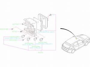 Subaru Impreza Fuse  Box  Electrical  Wiring