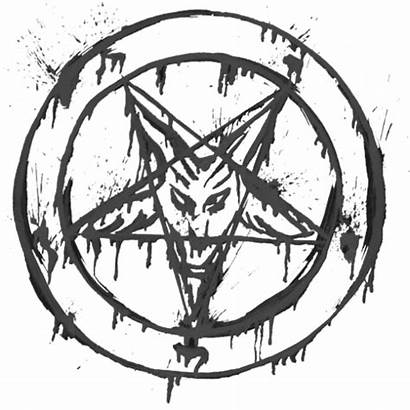 Satanic Satan Pentagram Baphomet Transparent Symbol Satanism