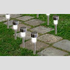 Bright Led Solar Garden Path Lights (12pack) Groupon