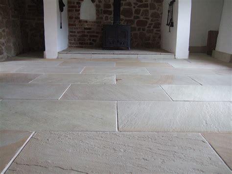 Modern Flagstone Floor Restoration  The Floor Restoration