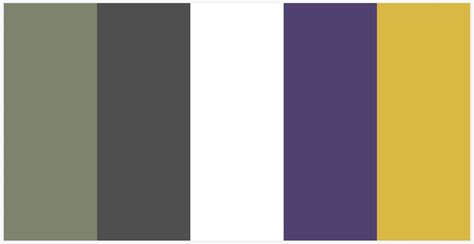 color pallete without the yellow for the home house