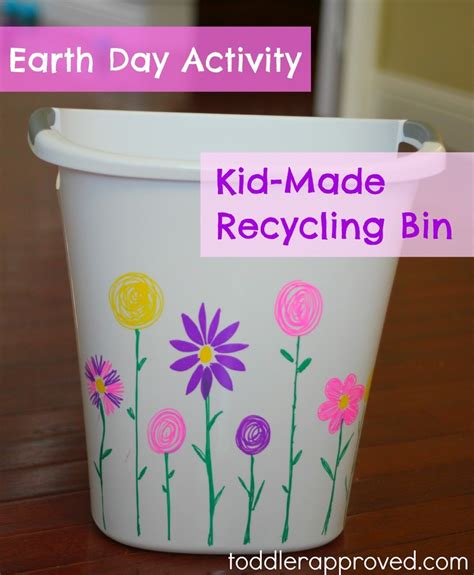 Earth Day Project Ideas Toddlers Recycling