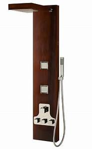 Colonne De Douche Bois : colonne de douche en bois teck ~ Dailycaller-alerts.com Idées de Décoration