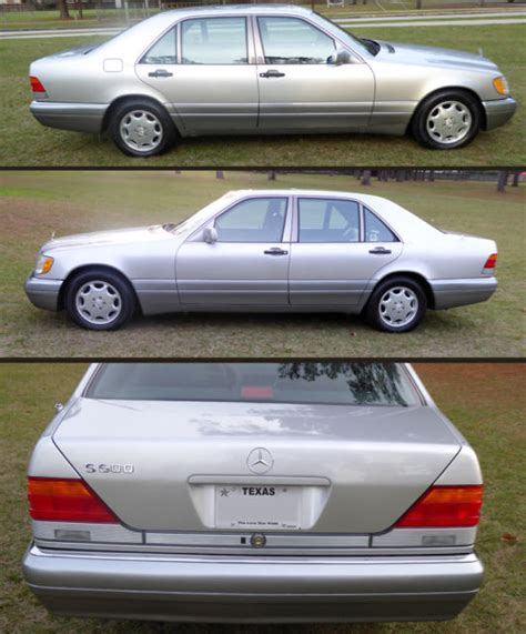This is a beautiful example of german engineering and luxury made better by the limousine builder, picasso of new york. 1995 Mercedes S600 V12 Sedan Low Mileage - Classic 1995 ...