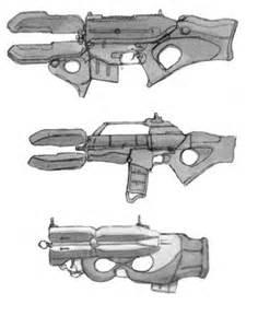 Futuristic Video Game Guns
