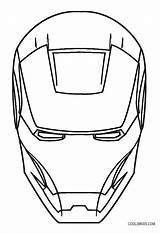 Iron Coloring Man Pages Face Mask Drawing Sketch Lego Print Easy Superhero Marvel Draw Games Printable Sheets Cool2bkids Helmet Clipartmag sketch template