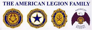 Legion Family Bumper Sticker - American Legion Flag & Emblem