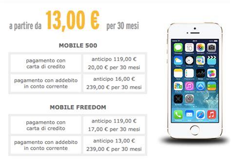 fastweb abbonamento mobile fastweb mobile aggiunge l iphone 5s tra i dispositivi in