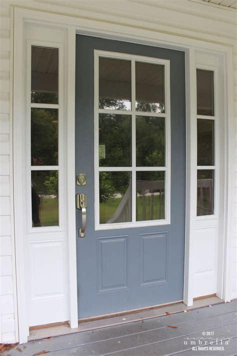 paint  metal front door  easy