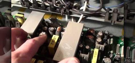 repair  plasma tv   blinking led light issue
